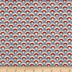 Let Freedom Fly Forever Fan Flag Red/Blue Fabric
