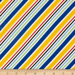 Holly's Dollies Stripe Multi Fabric