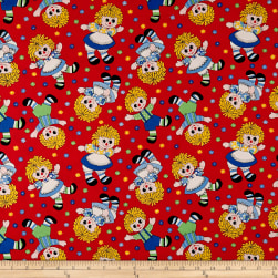 Holly's Dollies Medium Dollies Red Fabric