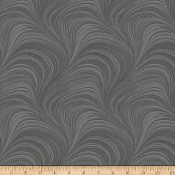 Wave Texture Grey Fabric