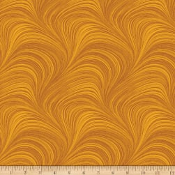 Wave Texture Amber Fabric