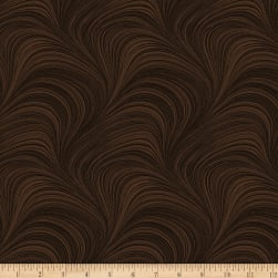 Wave Texture Chocolate Fabric
