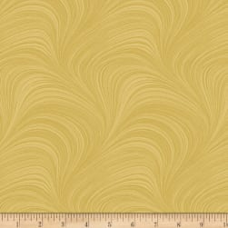 Wave Texture Gold Fabric