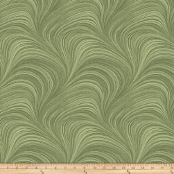 Wave Texture Sage Fabric
