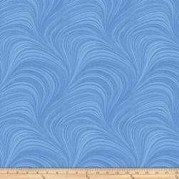 Hydrangea Blue Wave Texture Blue Fabric