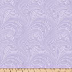Wave Texture Purple Fabric