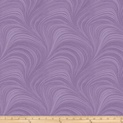 Wave Texture Violet Fabric