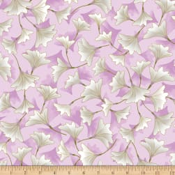 Kanvas Enchanted Blossoms Orchid Fabric