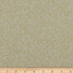 Autumn Leaves Garden Vine Cream Fabric