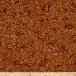 Lava Solids Batik Brown Sugar Fabric