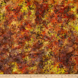 Anthology Batiks Bloom Magma Fabric