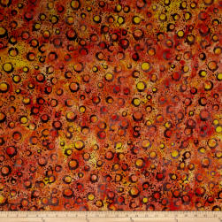 Anthology Batiks Rings Magma Fabric