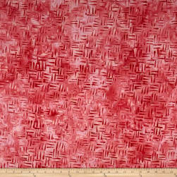 Anthology Batik Sharp Points Bubblegum Fabric