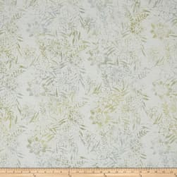 Anthology Batiks Tropical Floral Mist Fabric