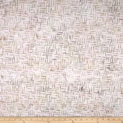 Anthology Batik Sharp Points Pale Fabric