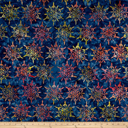 Anthology Batiks Sparkle Nautical Fabric