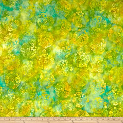 Anthology Batik Ditzy Daisy Pacific Fabric