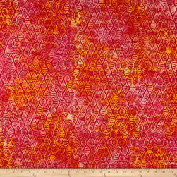Anthology Batik Afterglow Magenta