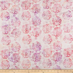 Anthology Batik Ditzy Daisy Flirt Fabric