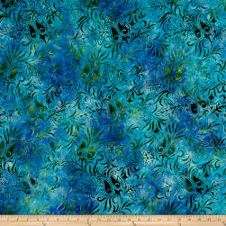 Anthology Batiks Flower Venus Bahama Fabric