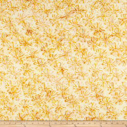 Anthology Batiks Bloom Marigold Fabric