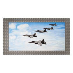 Air Show Fighter Jet Formation 24