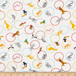 Little Explorers Animal Rings Multi Fabric
