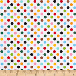 Little Explorers Polka Dot Multi Fabric
