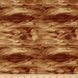 Mosaic Forest Glass Brown Fabric