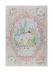 Ducky Tales 30'' Duck Panel Pink Fabric