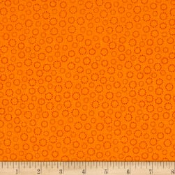 Bear Essentials 3 Dotted Rings Orange Fabric