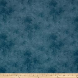Suede Mid Tones Slate Blue Fabric