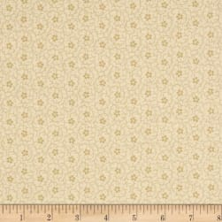 Apple Cider 16 Dotted Small Scroll Neutral Fabric