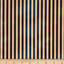 St. Louis Collection Stripe Blue Fabric