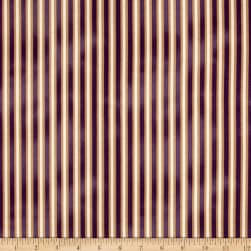 St. Louis Collection Stripe Purple Fabric