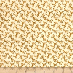 St. Louis Collection Vine Lt. Brown Fabric