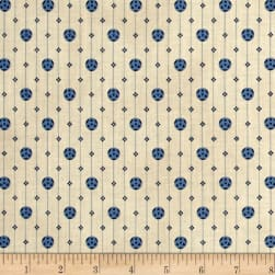 St. Louis Collection Geometric Lt. Blue Fabric