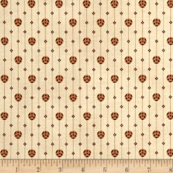 St. Louis Collection Geometric Lt. Wine Fabric