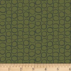 Stof Dot Mania Khaki Fabric