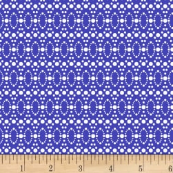 Stof Dot Mania Medium Blue Fabric