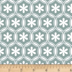 Stof Duo Petals Sage Fabric