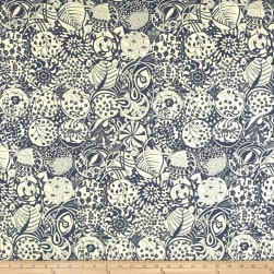 Liberty Fabrics Interiors November Linen Indigo Fabric