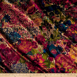 Liberty Fabrics Interiors Velvet May Anthology Fabric