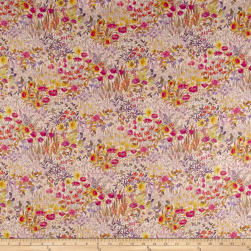 Liberty Fabrics Interiors Floral Clay Linen Wood Fairy