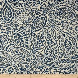 PKL Studio Cast A Shadow Indigo Duck Fabric