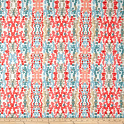 PKL Studio Mosaic Coral Duck Fabric