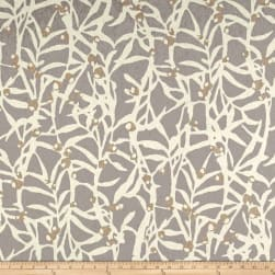 PKL Studio Origami Branch Platinum Duck Fabric