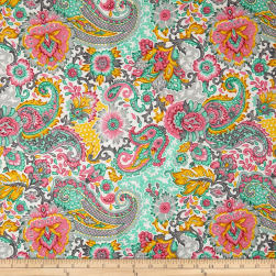 Stof France Allia Multicolore Fabric