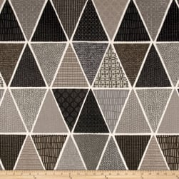 Stof France Chulo Basketweave Gris Fabric