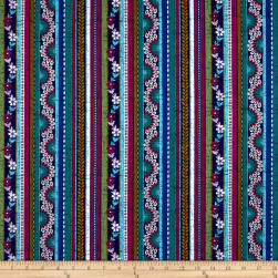 Michael Miller Plume Ruffled Feathers Sapphire Fabric